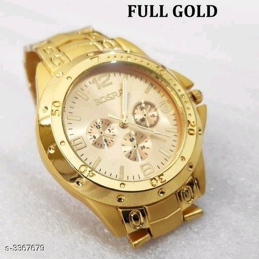 Arvi Trendy Metal Men's Watches