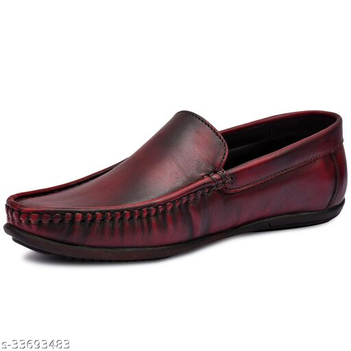 Men's Genuine Leather Cherry Loafer