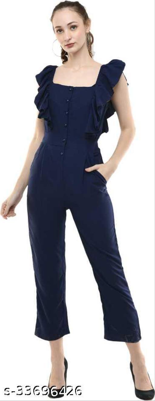Trendy Crepe jumpsuit
