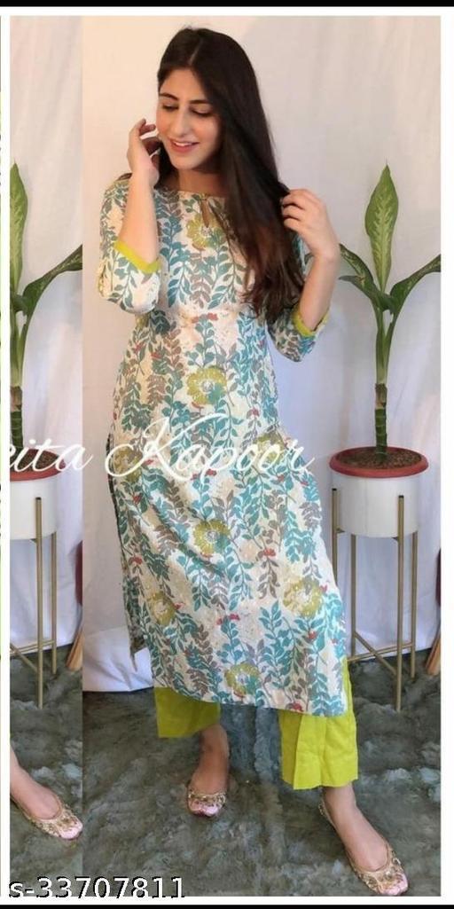 Trendy Graceful Women Kurta Sets