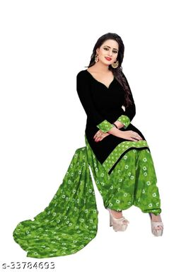 Printed Unstitched Dress Material For Women