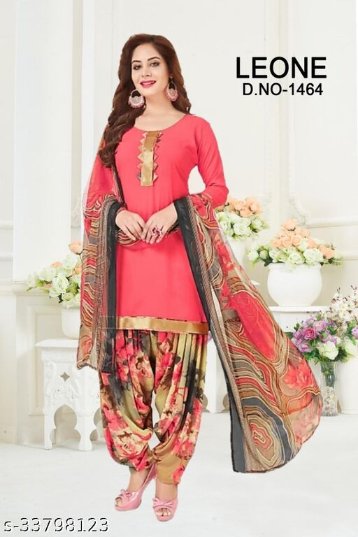 Fancy Women's Unstitched Printed Dress Material