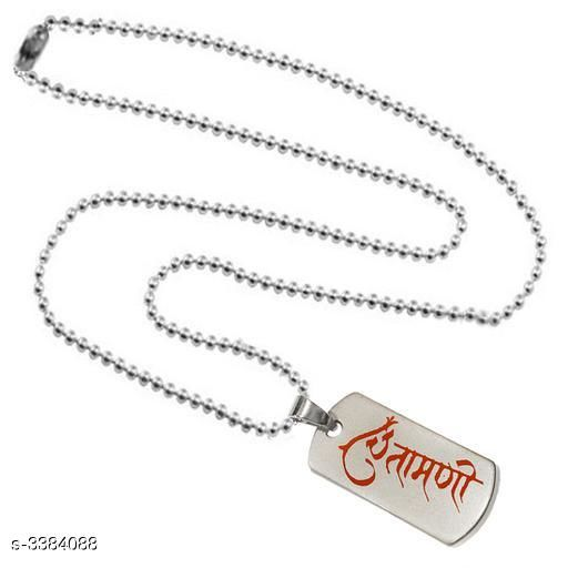Pendants & Lockets Men's Metal Pendants With Chains  *Material* Metal   *Size* Free Size   *Description* It Has 1 Piece Of Men's Pendant With Chain   *Work* Embellished  *Sizes Available* Free Size *    Catalog Name:  Attractive Men's Metal Pendants With Chains Vol 1 CatalogID_469378 C77-SC1095 Code: 141-3384088-
