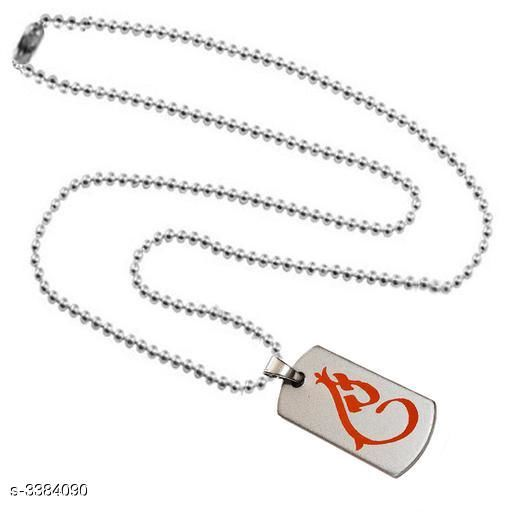 Pendants & Lockets Men's Metal Pendants With Chains  *Material* Metal   *Size* Free Size   *Description* It Has 1 Piece Of Men's Pendant With Chain   *Work* Embellished  *Sizes Available* Free Size *    Catalog Name:  Attractive Men's Metal Pendants With Chains Vol 1 CatalogID_469378 C77-SC1095 Code: 141-3384090-