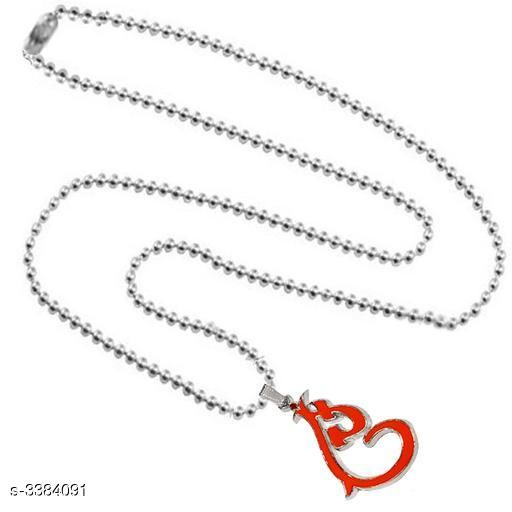 Pendants & Lockets Men's Metal Pendants With Chains  *Material* Metal   *Size* Free Size   *Description* It Has 1 Piece Of Men's Pendant With Chain   *Work* Embellished  *Sizes Available* Free Size *    Catalog Name:  Attractive Men's Metal Pendants With Chains Vol 1 CatalogID_469378 C77-SC1095 Code: 141-3384091-