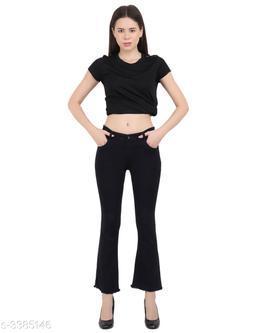 Trendy Comfy Dobby Denim Women's Jean