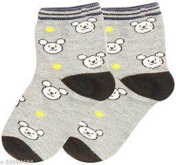 Kids Cotton Ankle Length Socks