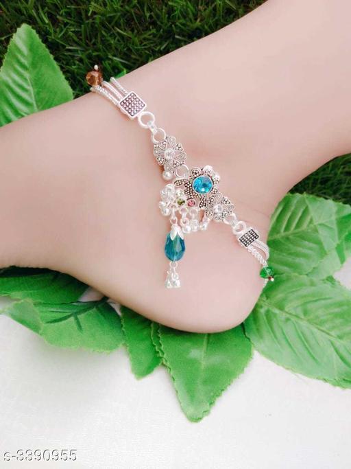 Twinkling Trendy Alloy Women's Anklet