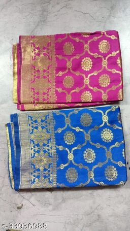 Kanooda Prints Fancy Women's  Jacquard Printed Dupattas.