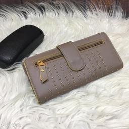 Trendy PU Leather Women's Wallet