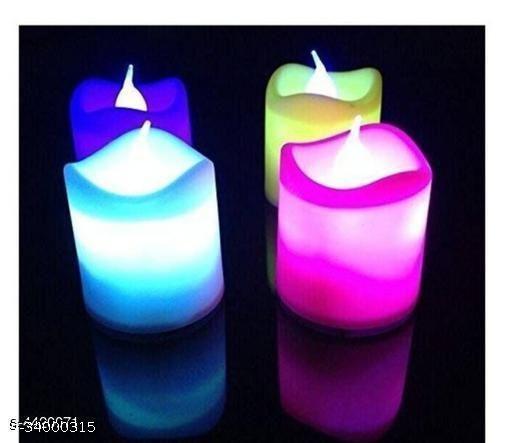Modern Festive Candles