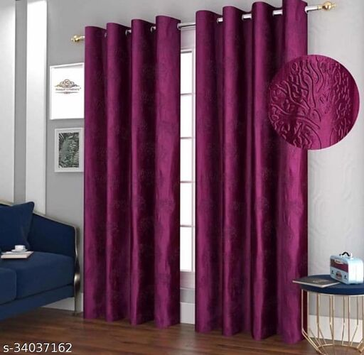 Trendy Alluring Curtains & Sheers