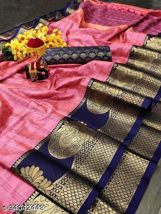 New Trendy Banarasi Silk Saree