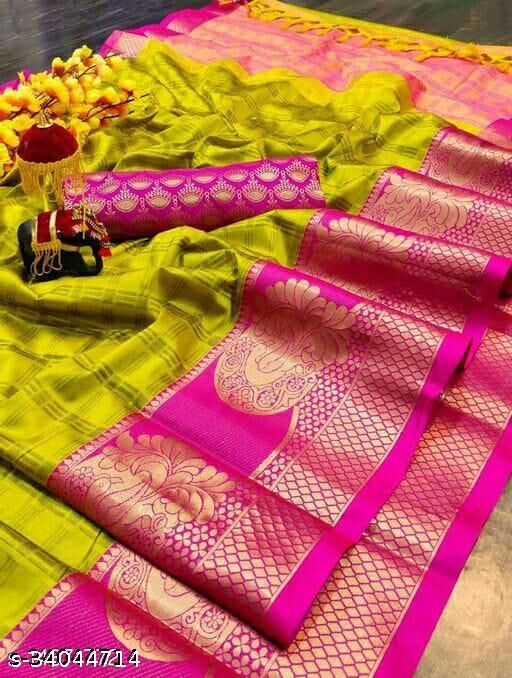 New Trendy Cotton Silk Saree