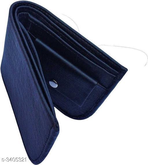 Fancy PU Leather Men's Wallet