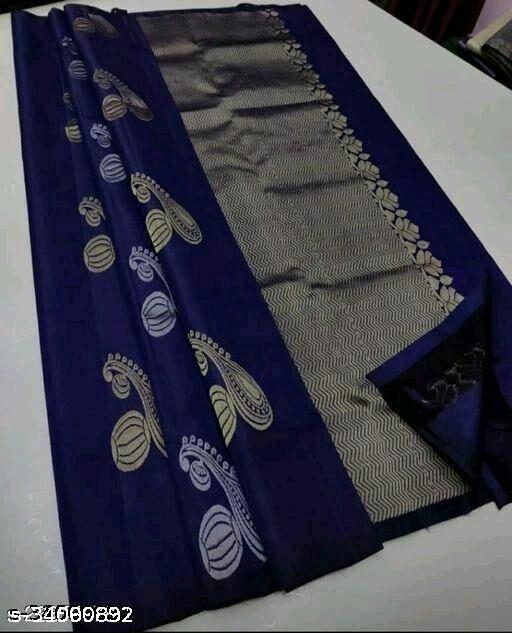 Festive Gorgeous Banarasi silk Blend Woven Saree for Women
