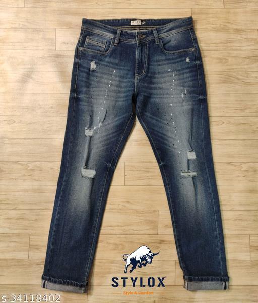 Elegant Glamarous Men Jeans