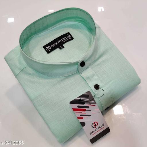 Attractive 100% Cotton Men's short kurta