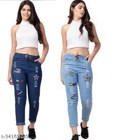 Trendy Stylish Women's Jeans ( Buy 1 , Get 1 Free )