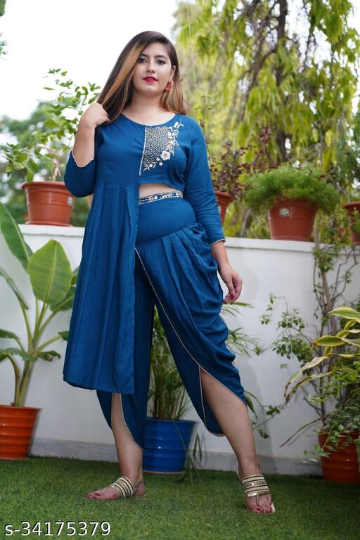BADODIYA'S BLUE DHOTI-004