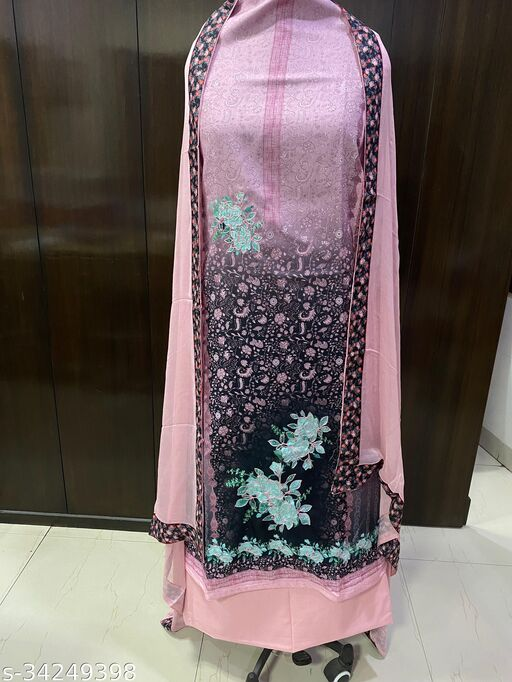 SWI STYLISH unstitched printed suits material