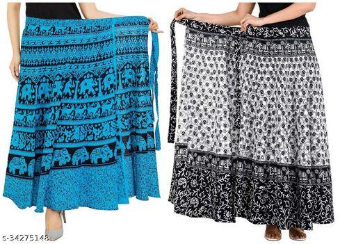 Printed Cotton Skirts