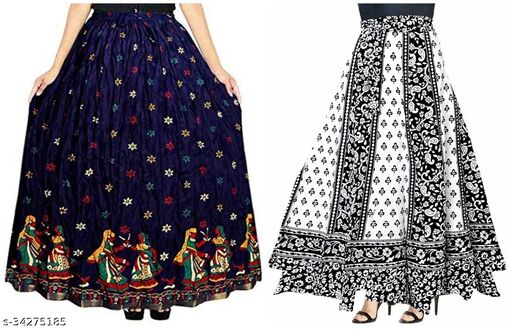 Graceful Women Ethnic Skirts