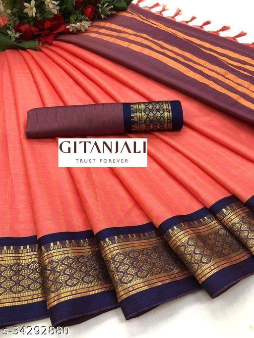 Attractive  Cotton Silk sarees