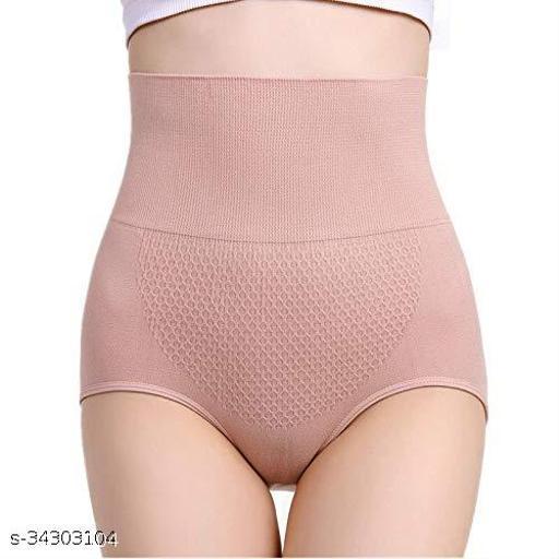 Ollie  Women's Shapewear Grip Wire No Rolling Down Tummy Tucker