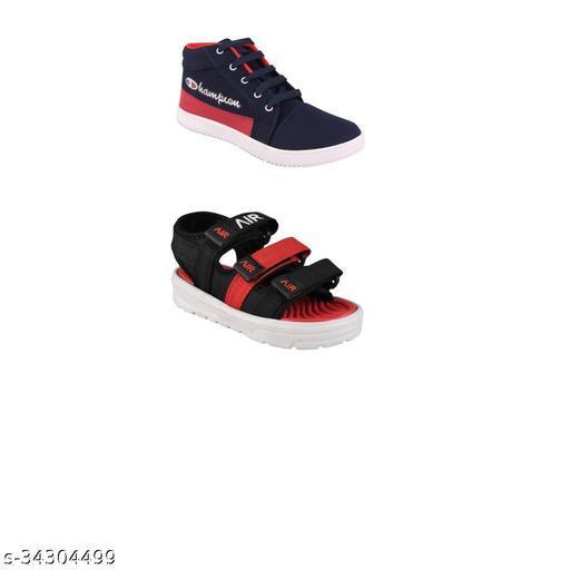 Fuzzy Classy Boys  Sandals