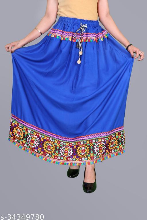 Aakarsha Drishya Women Ethnic Skirts