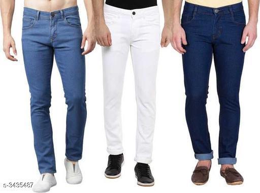 Stylish Cotton Lycra Men's Jeans
