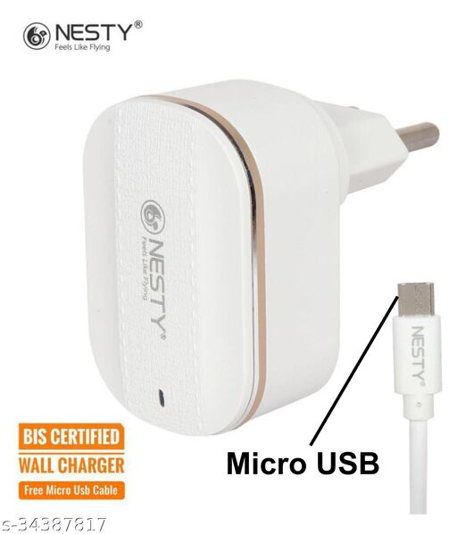 Nesty fast charger 3.4amp with 2 usb hub oppo charger vivo charger mi charger samsung charger realme charger nokia charger