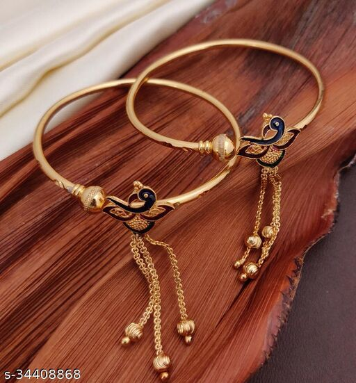 Shimmering Fancy Bracelet & Bangles