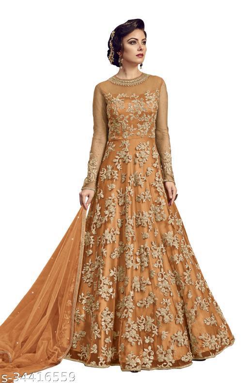 kapanku Designer Anakali Salwar Suit Gown For Womens And Girls