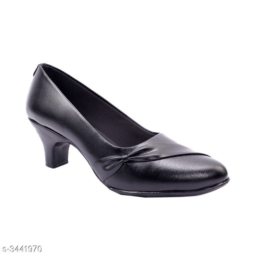Stylish Women's Black Heels