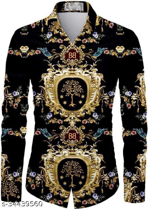 Black Dark shirt fabric