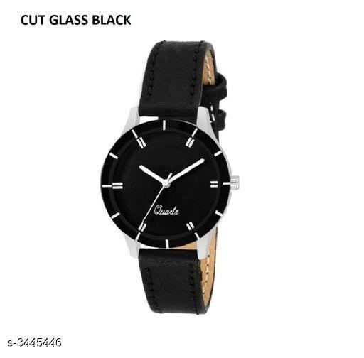 Classy Leather Women's Watch