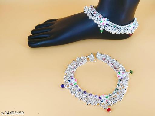 Shimmering Fancy Women Anklets & Toe Rings