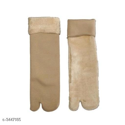 Comfy Woollen Velvet Women's Socks