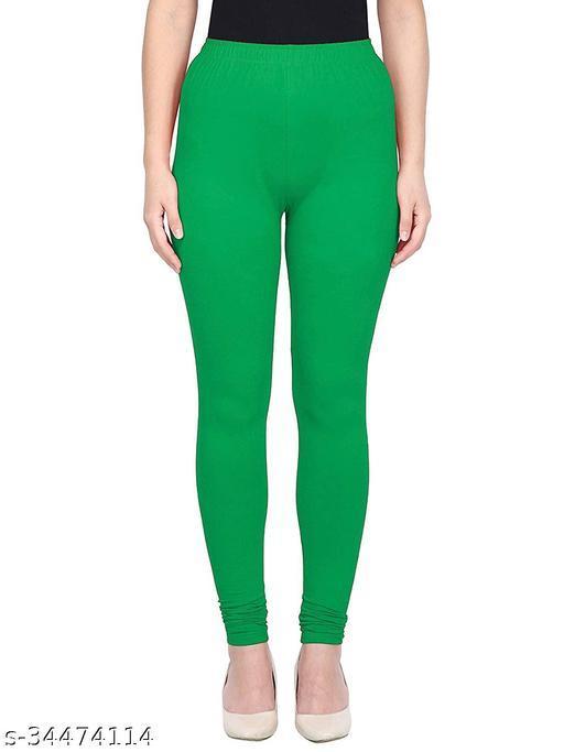 Apna store P. green Regular fit churidar leggings