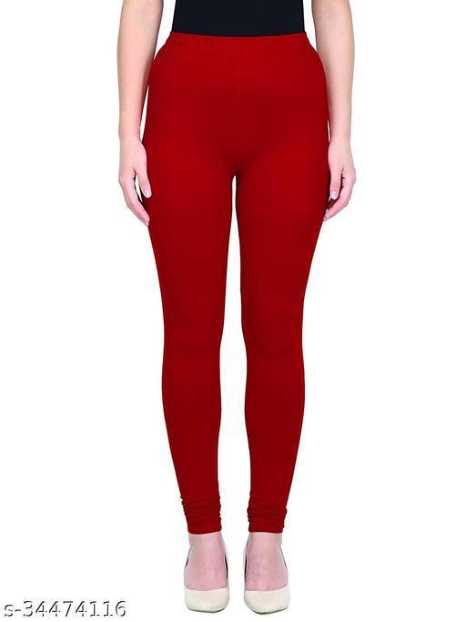 Apna store Red Regular fit churidar leggings