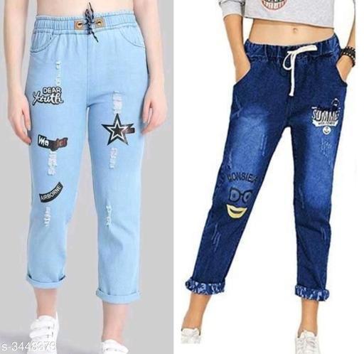 Trendy Women's Denim Jean's