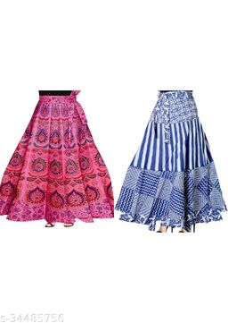 Refined Women Ethnic Skirts