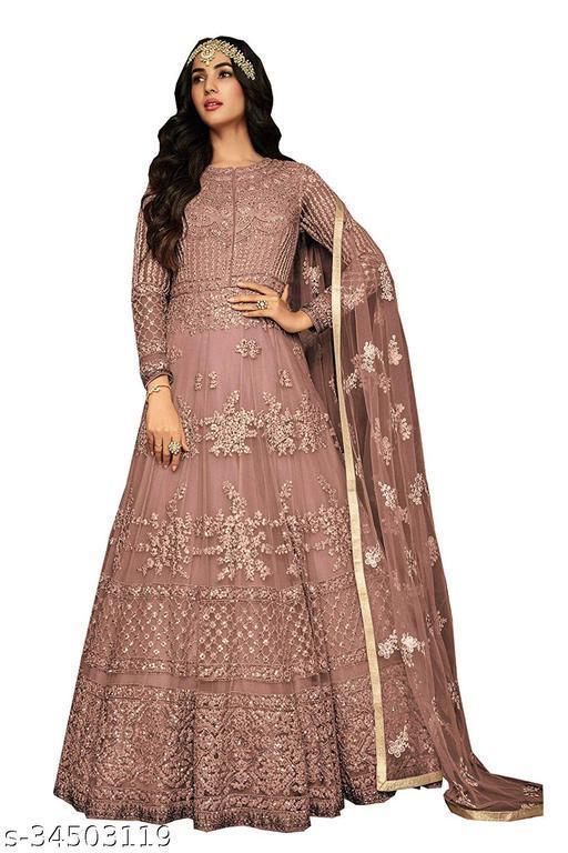 Designer Gown Salwar Suit