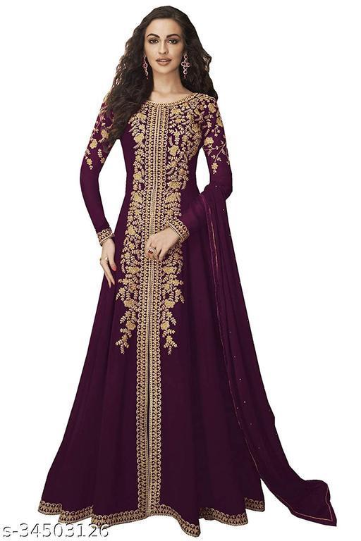 Trendy Heavy Designer Gowns