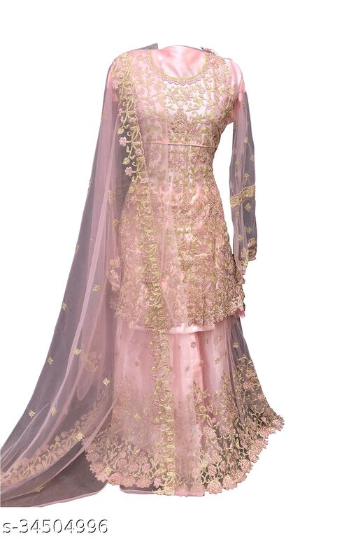 Trendy Net Gowns