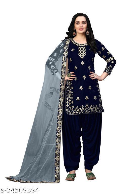 Trendy Velvet Gowns