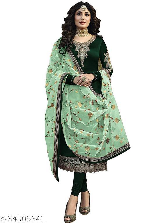 Designer Partywear Anarkali Gown Salwar Suit For Women And Girls