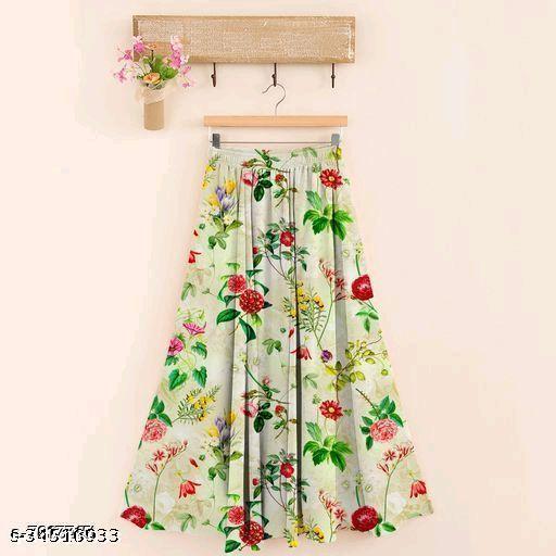 Casual Trendy Women Western Skirts